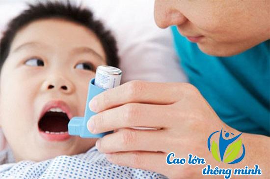Cách chữa trị bệnh hen suyễn ở trẻ em mùa lạnh