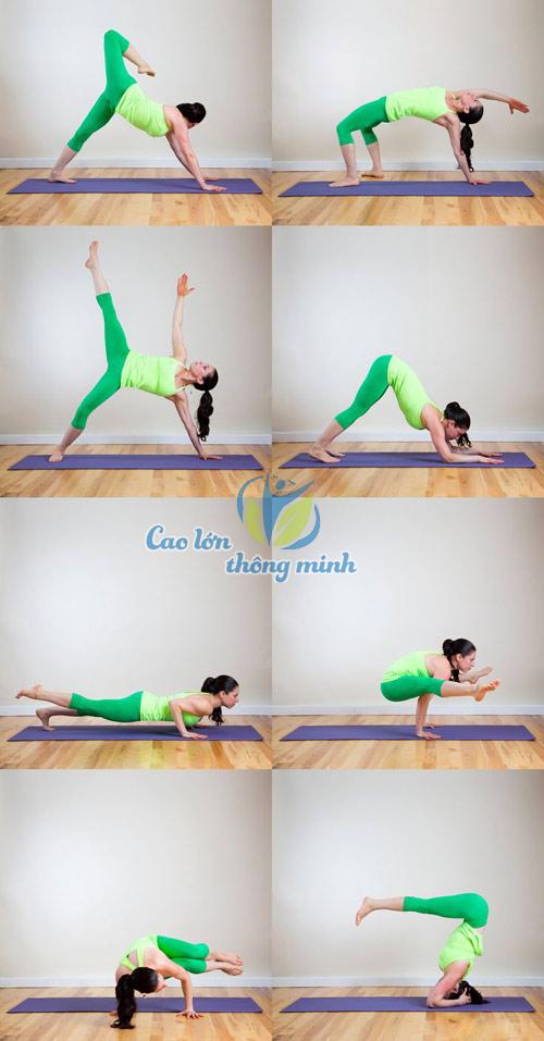 8 bài tập yoga tại nhà vừa tăng chiều cao vừa dáng xinh cho bạn nữ