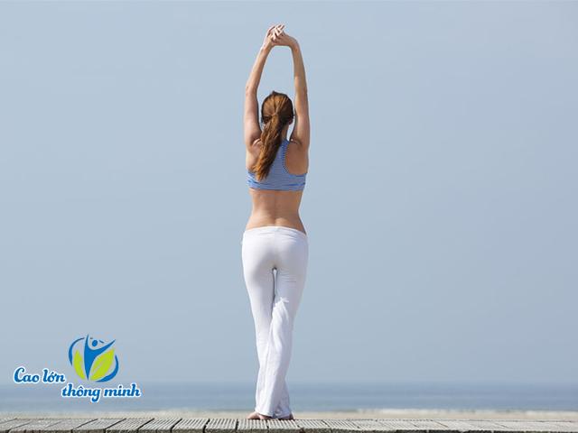 Yoga tăng chiều cao cho người trưởng thành