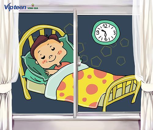 Ngủ đủ giấc giúp cơ thể tăng chiều cao